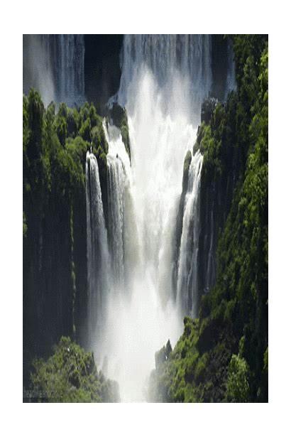 Water Fall Majestic Waterfall Natural Gifs Falls
