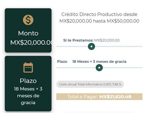 Banco del Bienestar te presta hasta 50 mil pesos - Aquí te ...