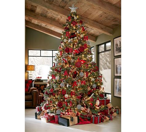 Pottery Barn Trees by The Look For Less Monogram Ornament Confettistyle