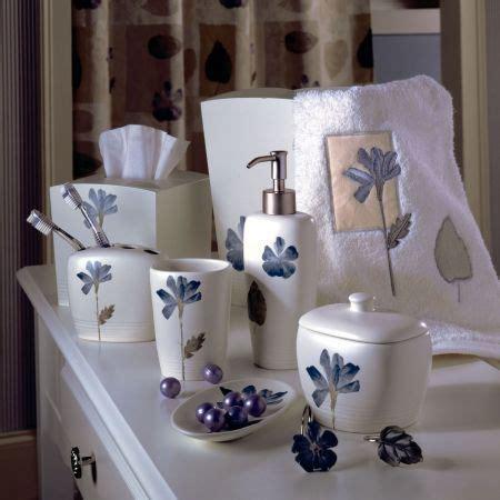 Bathroom Spa Accessories by Croscill Spa Leaf Bath Collection Cool Fresh Casual