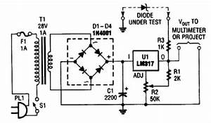 index 82 measuring and test circuit circuit diagram With zener diode tester