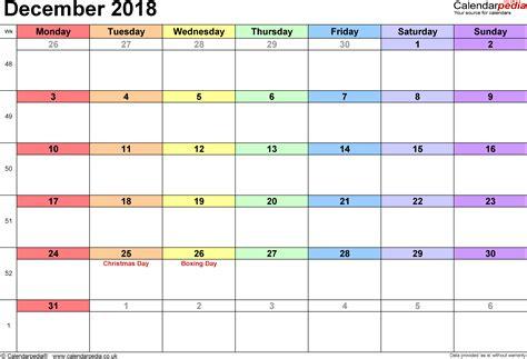 december 2017 printable calendar calendar 2018 december 2018 calendar printable with holidays monthly dece