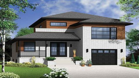 Modern Narrow Lot House Plans Narrow Lot Modern House