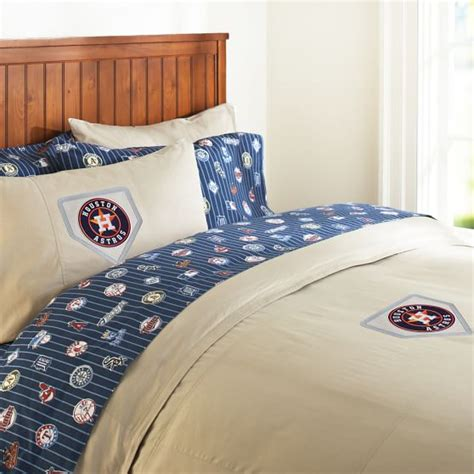 pottery barn houston houston astros duvet cover orange pbteen