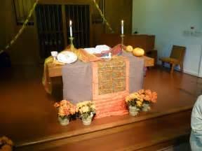 Thanksgiving Communion Table