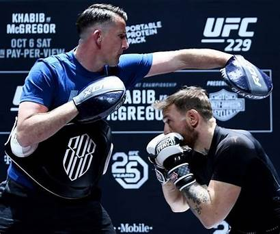 Mcgregor Conor Roddy Owen Training Ufc Return