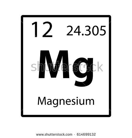magnesium periodic table magnesium stock images royalty free images vectors