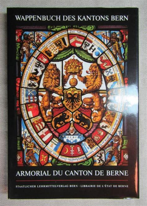 wappenbuch des kantons bern zvab