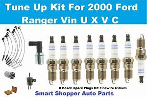 00 Ford Ranger L4 2 5l Spark Plug Oil Air Filter Spark