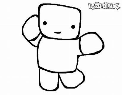 Roblox Coloring Pages Noob Printable Chibi Hats