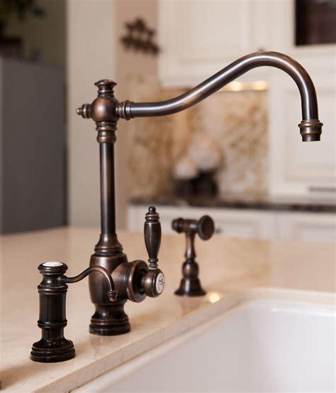 waterstone kitchen faucets annapolis kitchen faucet suite traditional kitchen