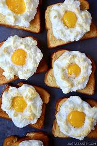 Light S Day Desserts Cloud Eggs On Toast Just A Taste