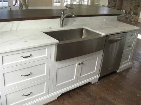 Stainless Overmount Farmhouse Sink by Stainless Steel Farmhouse Sink Is Unique Enstructive