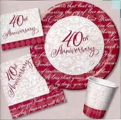 40th wedding anniversary gift ideas anniversary on 40th wedding anniversary 40th anniversary and 40th