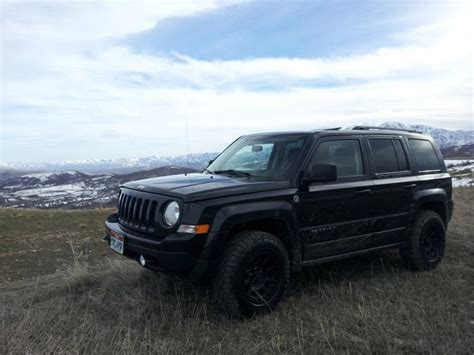 jeep patriot lifted tire wheel combo w rro lift jeep patriot forums jeep