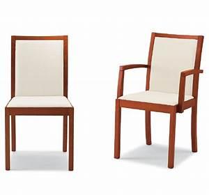 Davausnet chaises cuisine avec accoudoirs avec des for Deco cuisine avec chaise cuir blanc salle a manger