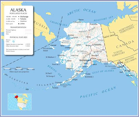 alaska mapalaska state mapalaska road map map  alaska