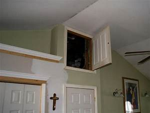 Fold-Away Attic Ladder HGTV