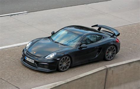 2015 Porsche Cayman Gt4 Completely Revealed In Latest Spy