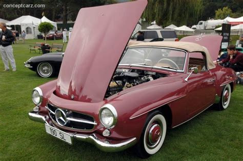 1959 Mercedes-benz 190 Sl Image. Chassis Number 121.042.10