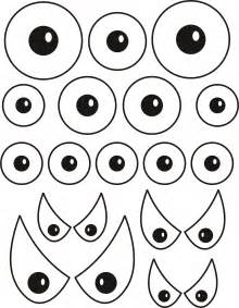 Free Printable Monster Eyes