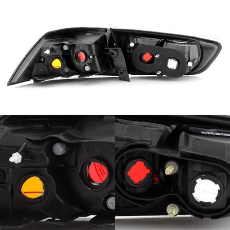 evo x tail lights 2008 2017 lancer 2008 2015 evolution evo x black tail