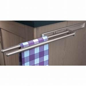 Hafele Towel Rail 2 Rail - Toolstation