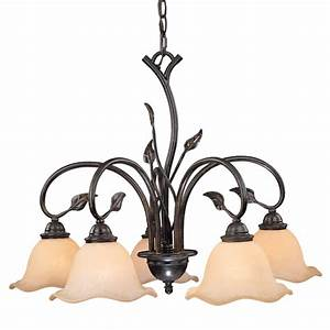 Rustic chandeliers vine downlight chandelier with