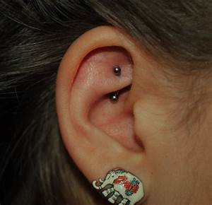 Rook piercing: Care, Healing, Pain, Jewelry, Price ...