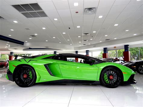 out of this world verde mantis lamborghini aventador sv