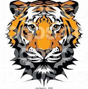 Cute Tiger Face Clipart - Clipart Suggest