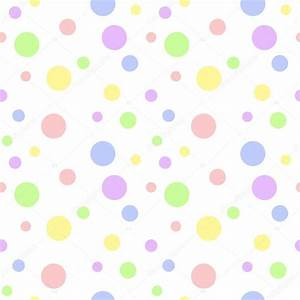 Seamless Pastel Multi Polka Dot — Stock Photo © SongPixels ...