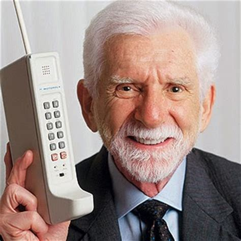 who invented phones martin cooper the inventor of the mobile phone