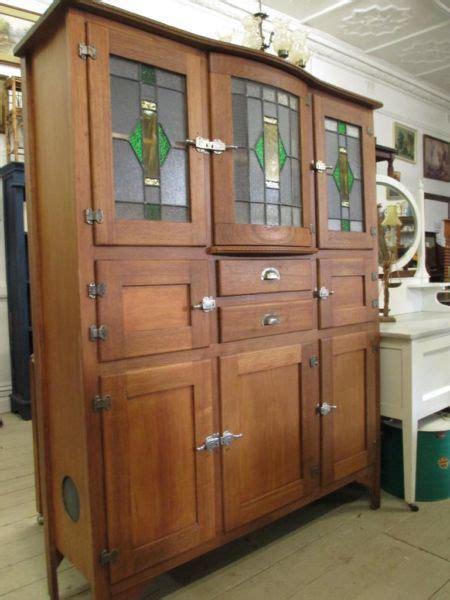 Kitchen Furniture Sale by Antique Leadlight Cupboard Cabinet Kitchen Dresser