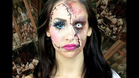 Horror Puppe by Horror Doll A Scary Makeup Tutorial Lacindina
