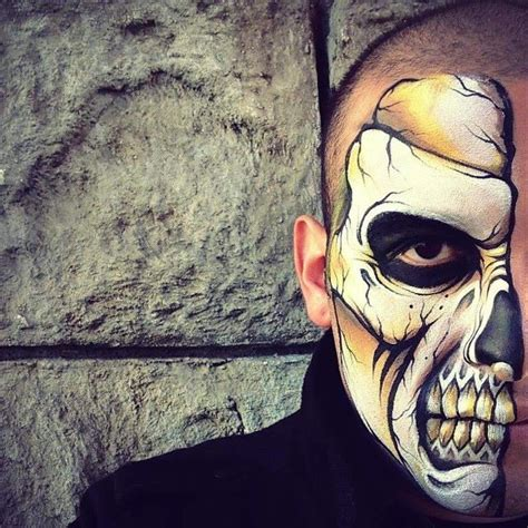 Really Cool Skull Face Paint