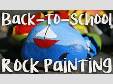 BacktoSchool Rock Painting – Phenix CityRussell County