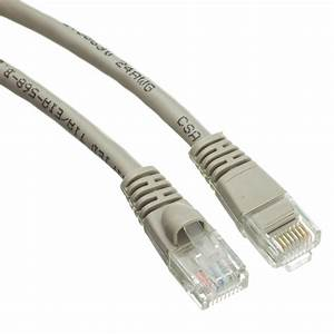 Snagless 1 5 Foot Cat5e Gray Ethernet Patch Cable