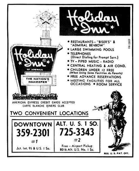 Holiday Inn Jacksonville, FL - 1963 in 2020 | Holiday inn ...