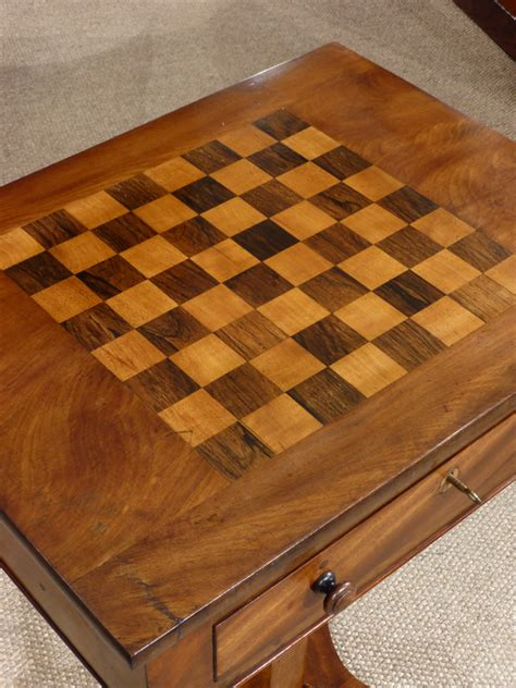 antique chess table antique games table georgian games