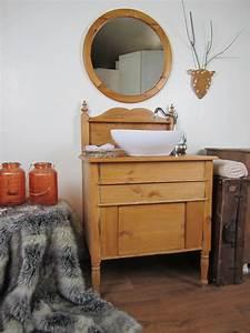 Waschtisch Holz Rustikal : besonderer waschtisch holz wasserheimat ~ Frokenaadalensverden.com Haus und Dekorationen