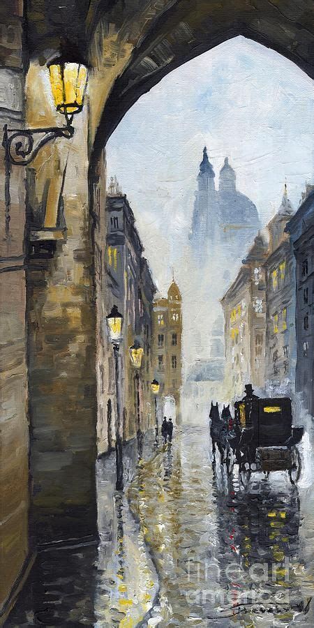 prague  street   yuriy shevchuk fine art street