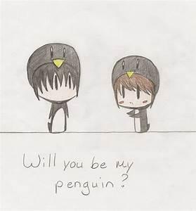 Penguin love by ReikoNatsumi on DeviantArt