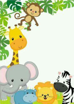 la selva invitaciones o tarjetas para imprimir gratis ideas y animales