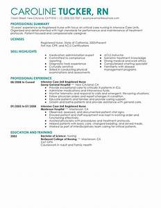 intensive care unit registered nurse resume sample With icu rn resume