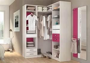 Amenagement Dressing Angle : rangement dressing leroy merlin ~ Premium-room.com Idées de Décoration