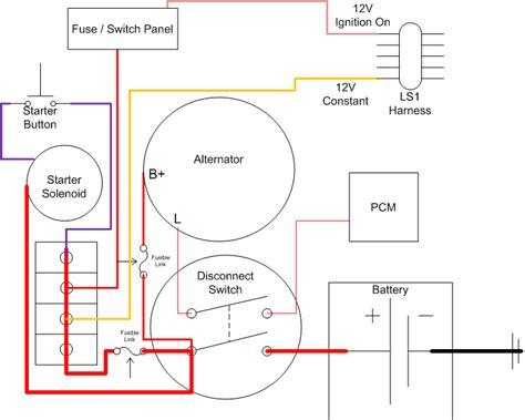 wiring diagram for a battery disconnect ls1tech camaro and firebird forum discussion