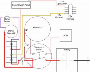 Wiring Diagram For A Battery Disconnect  - Ls1tech