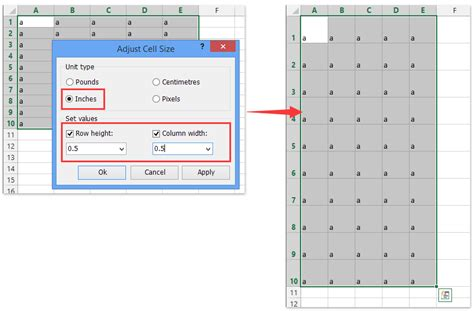 create grid papersquare template  excel