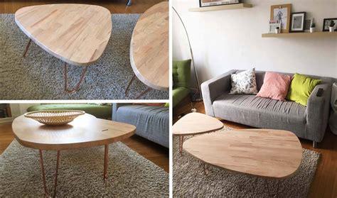 table de salon scandinave tuto tables basses gigognes et scandinaves tables basses pas cher et design 18h39 fr